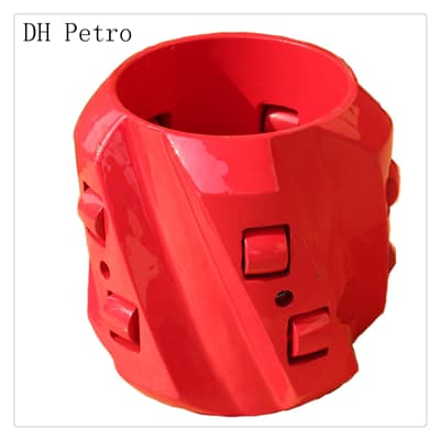 spiral-vane-roller-steel-casing-solid-rigid-centralizer