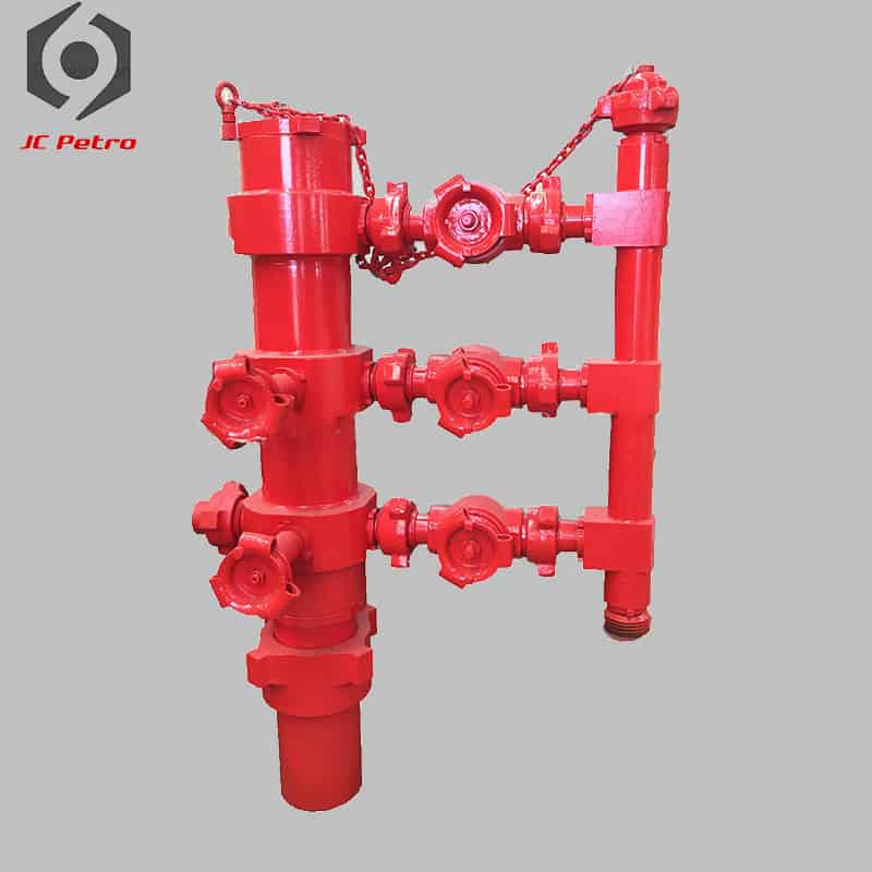 Double-plug-cement-head-oil-gas-field